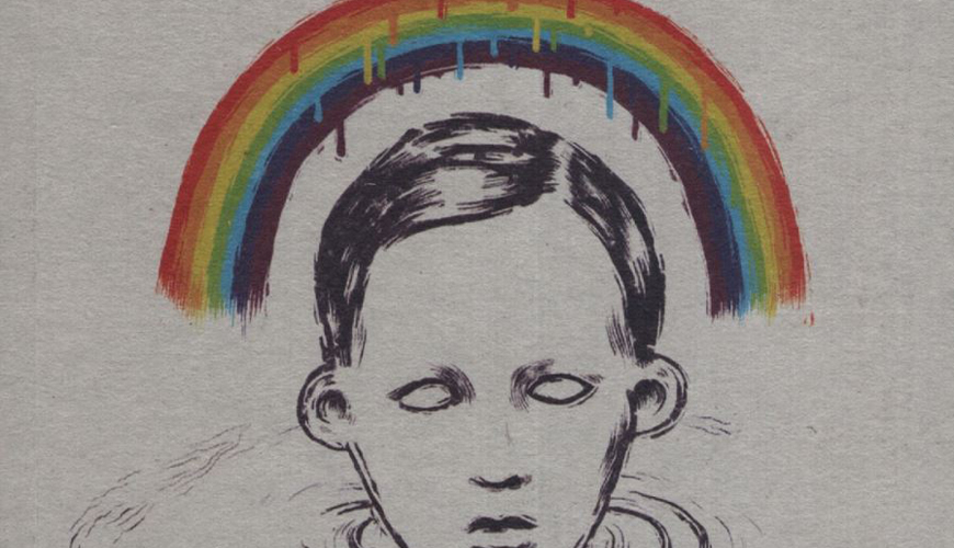 Jean Teulé Rainbow per Rimbaud