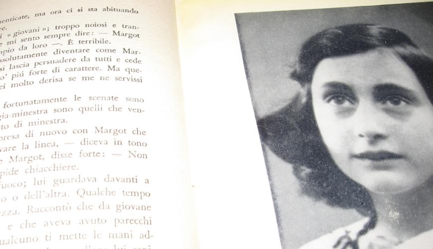 L'età dell'innocenza Anna Frank